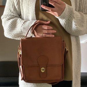 Vintage Coach leather sidebag